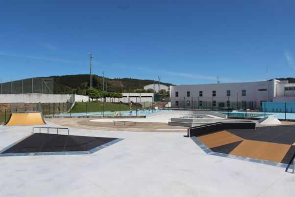 Vila de Rei: Obras no Skate Park de Vila de Rei terminadas