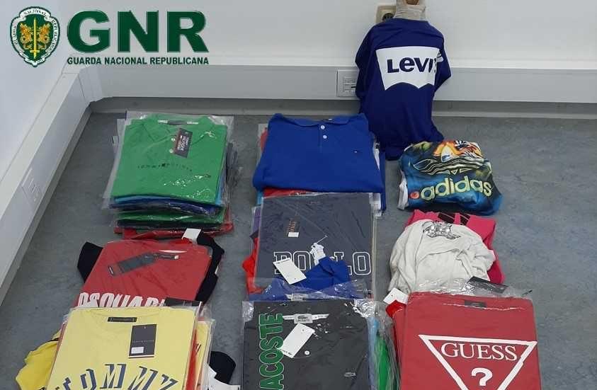 Oleiros: GNR apreendeu artigos contrafeitos