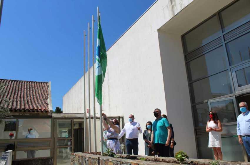 """Proença-a-Nova: Escola Básica já hasteou 1º bandeira """"Eco-Escola"""""""