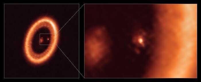Astrónomos detectam, pela primeira vez, disco a formar satélites em torno de exoplaneta