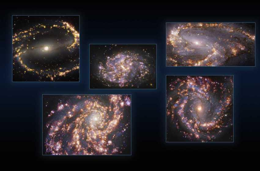 Fogo de artifício galáctico