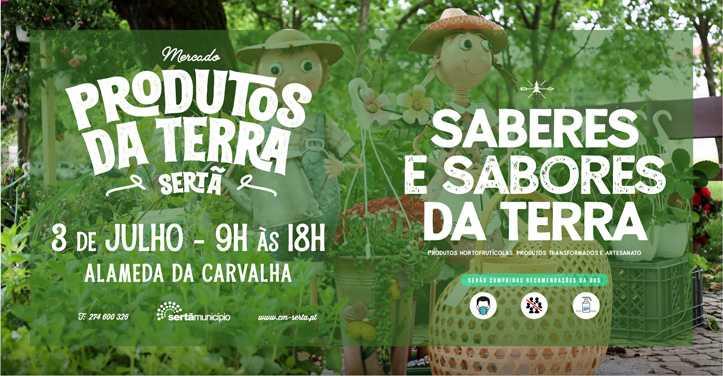 """Sertã: Carvalha recebe amanhã mais uma edição dos """"Produtos da Terra"""""""
