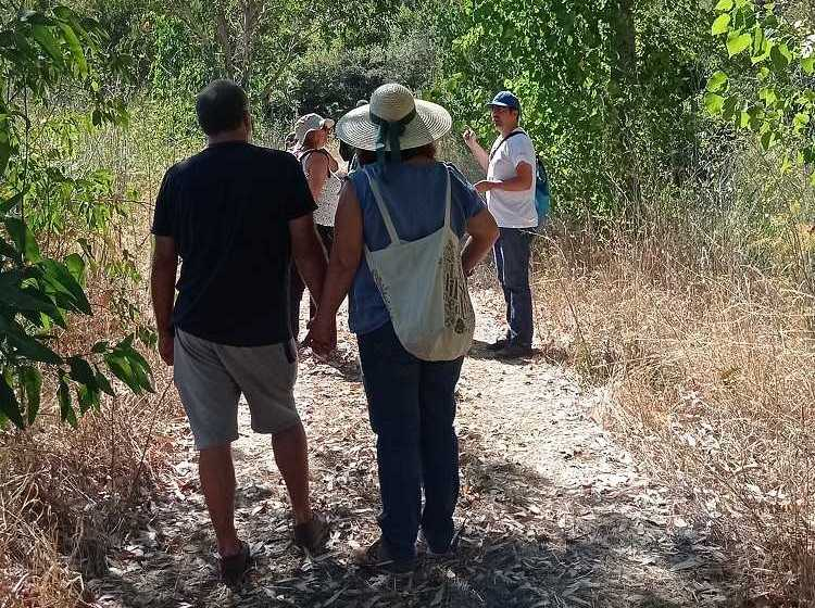Vila Rei: percurso interpretativo das linhas de água das ribeiras da Isna e do Bostelim