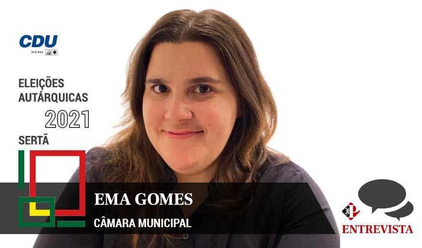 Autárquicas 2021: Ema Gomes é a candidata da CDU à Câmara Municipal da Sertã