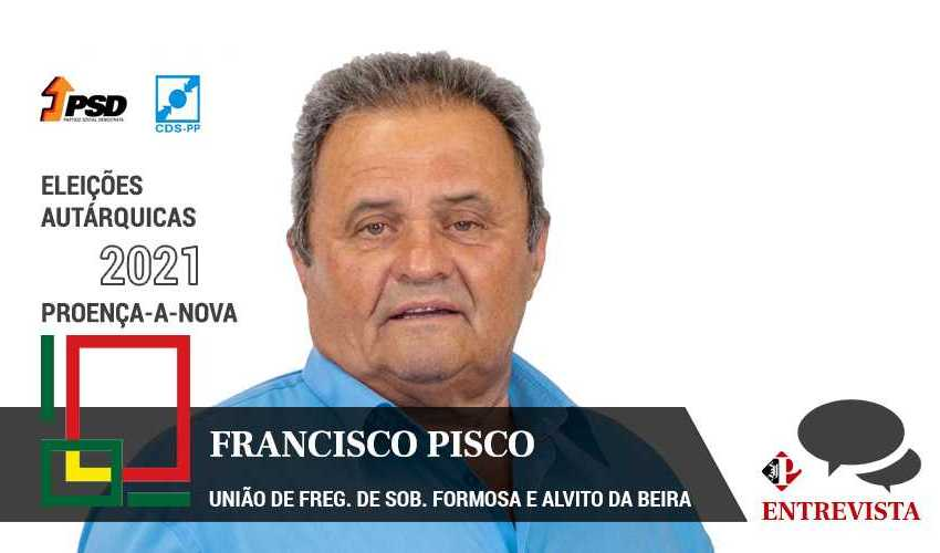 "Autárquicas 2021: Francisco Pisco quer combater ""abusos de poder"""