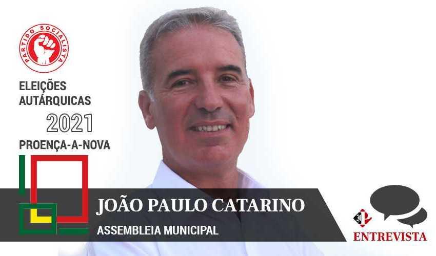 """Autárquicas 2021: João Paulo Catarino quer continuar """"projeto iniciado em 2005"""""""