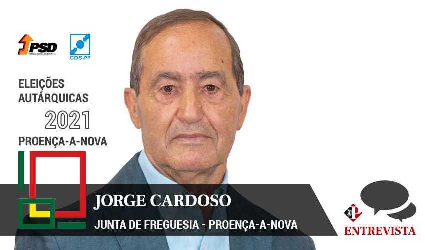 """Autárquicas 2021: Jorge Cardoso diz ter programa """"extenso e ambicioso mas exequível"""""""