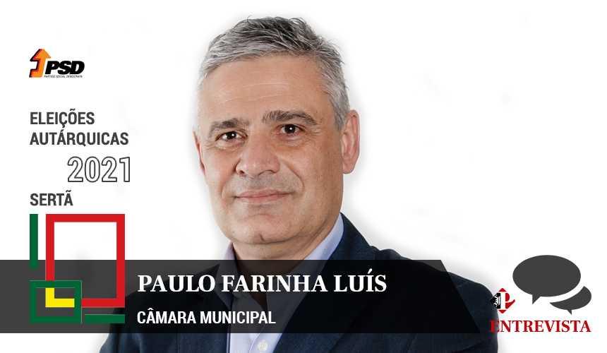 Autárquicas 2021: Paulo Farinha Luís é o candidato do PSD à Câmara Municipal da Sertã