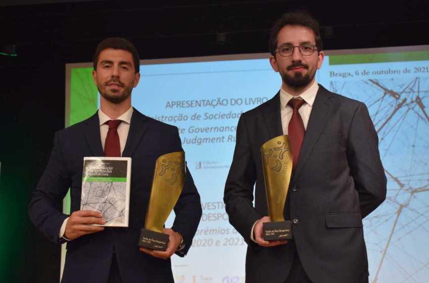 Ex-alunos da Universidade do Minho vencem prémio nacional de ética desportiva