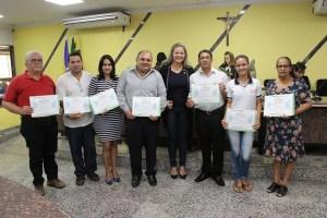RÁDIO FALANTE – Integrantes do Colégio Orlando Freire são homenageados por vereadora Ada Dantas