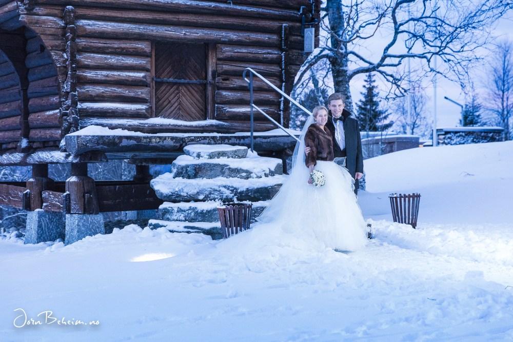 Bryllupsfotografering Holmenkollen