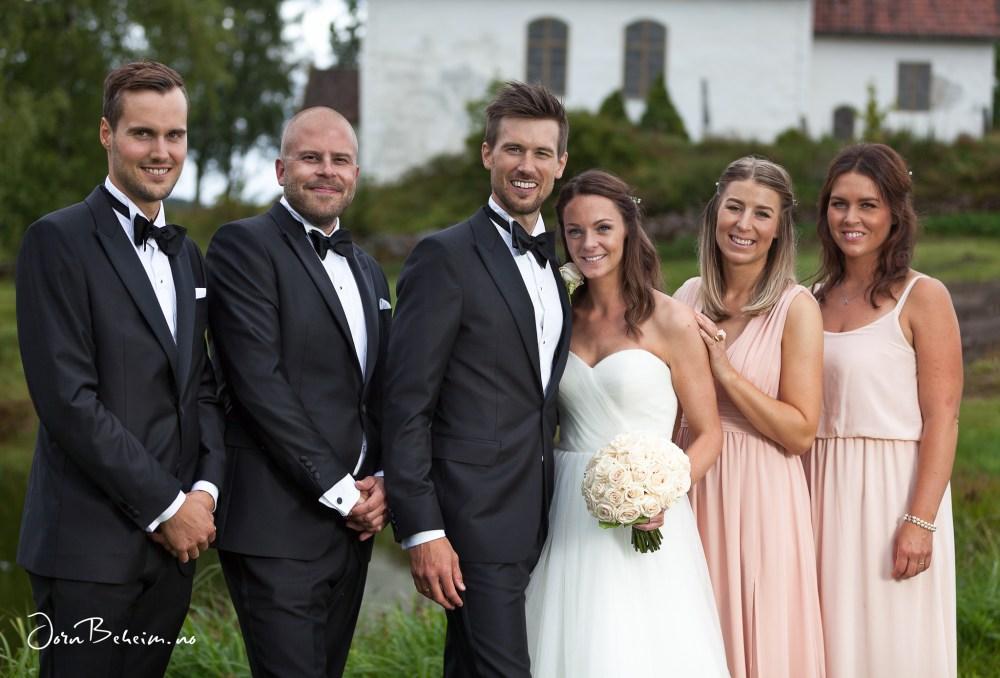 Bryllupsfotografering Drammen