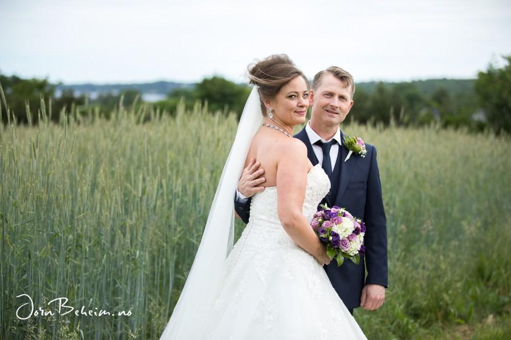 Bryllupsfotografering Åsgårdstrand