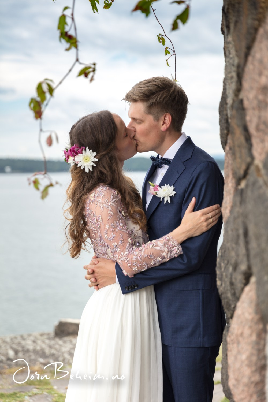 Bryllupsfotografering Bygdøy