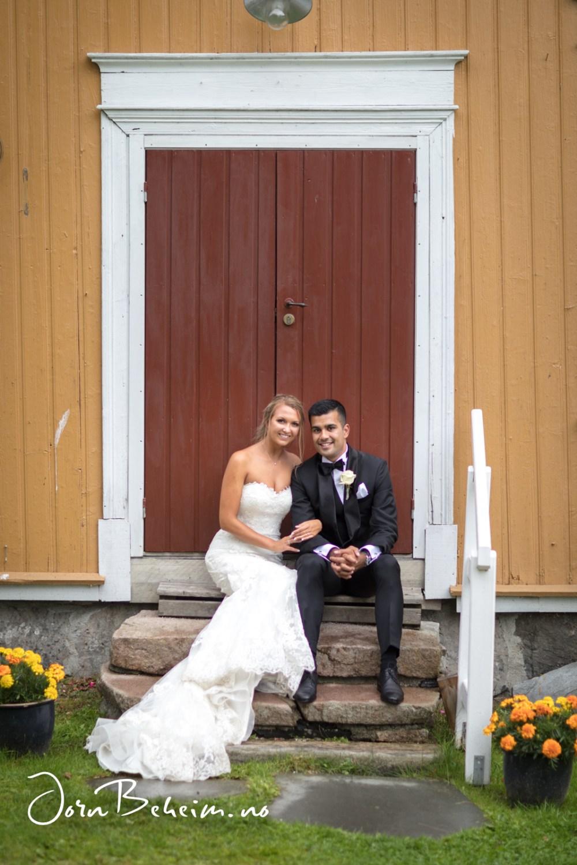 Bryllupsfotografering Fossesholm