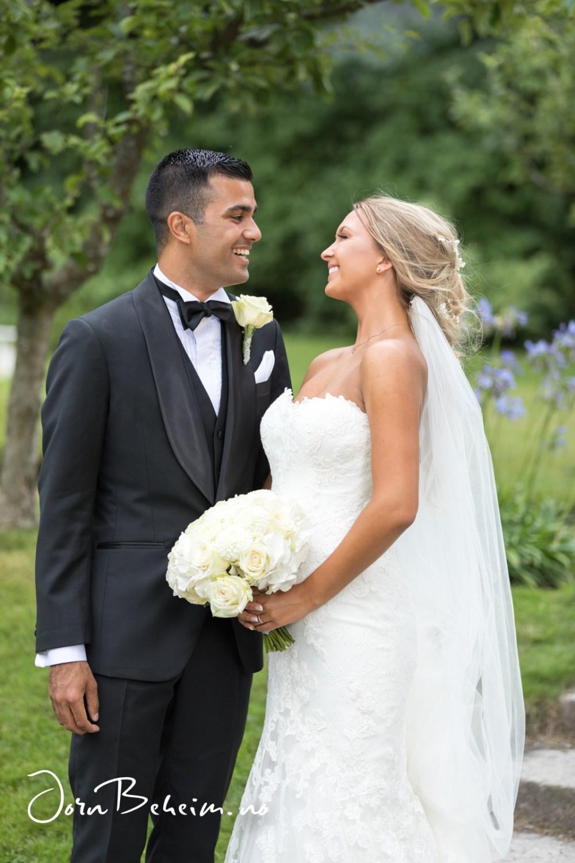 Bryllupsfoto Gulskogen Gård