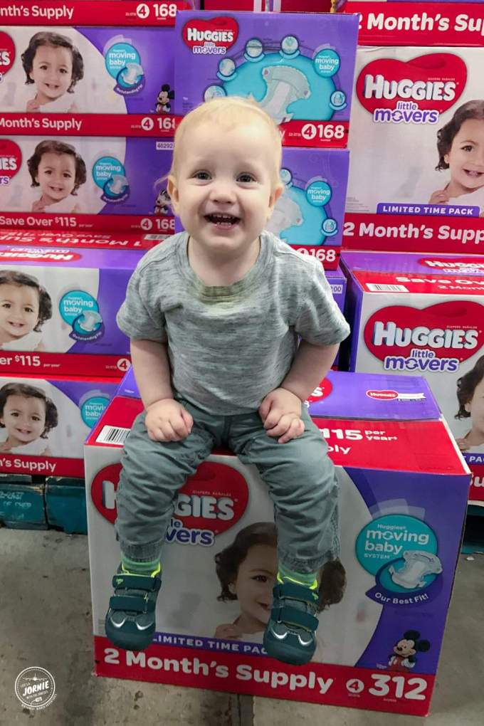 Save Time & Money with the BIGGEST PACK OF DIAPERS EVER