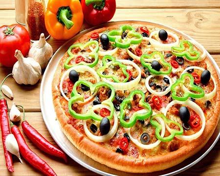 بيتزا الخضروات لمرضى السكرى