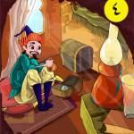 نوادر جحا-كيس الدنانير الجزء الرابع-قصص الأطفال