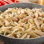 طريقة عمل مكرونة ألفريدو بالدجاج – المطبخ الإيطالى