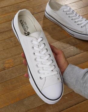 Low Top Printable Canvas Shoe/XL