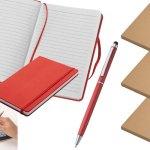 Notizbuch mit Firmenlogo