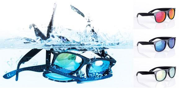 Werbeartikel schwimmfähige Sonnenbrille