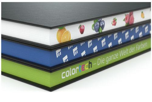 Hochwertige Notizbücher nach dem Baukastensystem Motivfarbschnitt