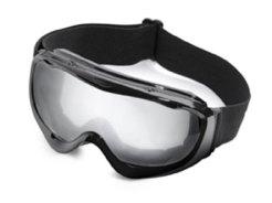 Skibrille als Klassiker mit Logo