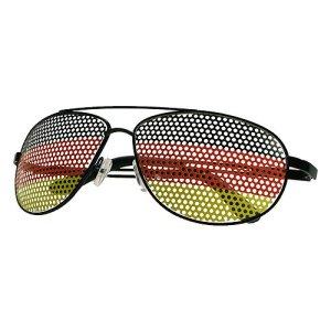 Brille in Deutschland-Farben