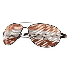Brille in Österreich-Farben