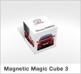 Haptische Werbehilfe Faltwerk Magnetic Magic Cube 3