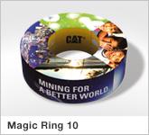 Haptische Werbehilfe Faltwerk Magic Ring 10