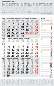 JoSA Werbeartikel 3-Monatsplaner Kombi