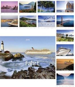 Werbeartikel Bildwandkalender Auf großer Fahrt