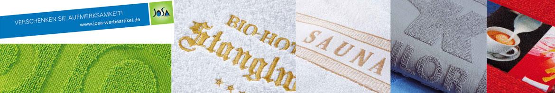 Werbeartikel Handtücher