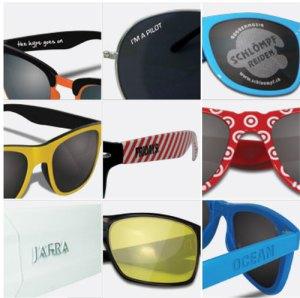 Werbeartikel Werbebrillen