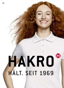 Werbebekleidung Corporate Fashion von HAKRO