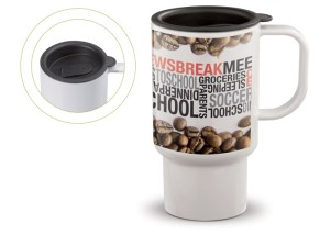 Werbegeschenk Coffee to go Becher