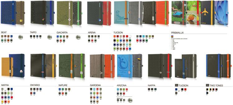 Lanybook Notizbücher Einbände