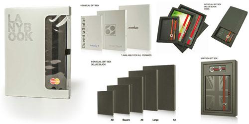 Lanybook Notizbücher Geschenkverpackungen