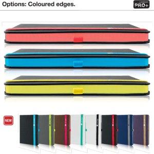 Lanybook Notizbücher mit Farbschnitt