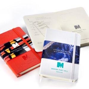 Moleskine Notizbücher Einband gestalten