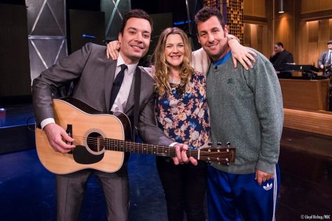 Adam Sandler Sings About Love to Pregnant Drew Barrymore ...