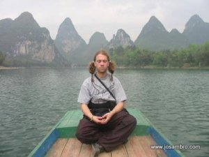 Josambro in Yangshuo: The Serenity of Hello Kitty