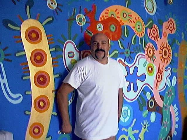 """El artista Gian Pietro Cazzago y sus """"bacterios positivos"""""""