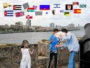 La Ciudad de las Banderas en su Malecón, de Margarita García Alonso.