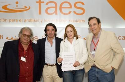 Carlos Alberto Montaner, Raul Rivero y Alina, la hija de Fidel Castro, entre otros.