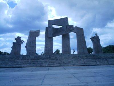 Otra imagen de la Plaza Mariana Grajales