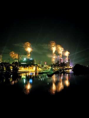 Celebración en Francia, de La Toma de la Bastilla...